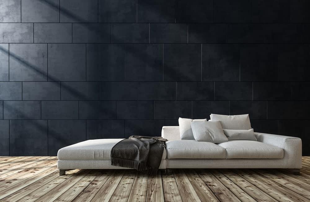 Low lying sofa