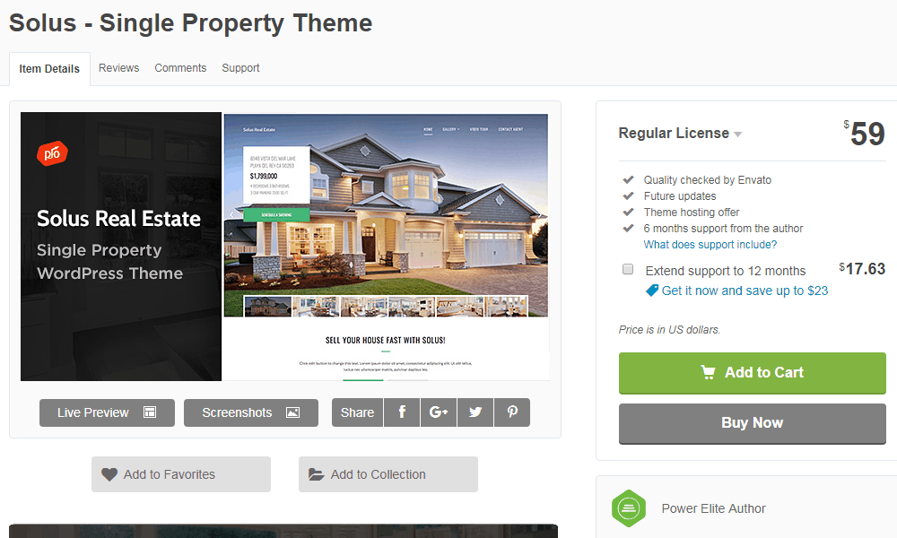 Solus Real Estate Property Website Theme
