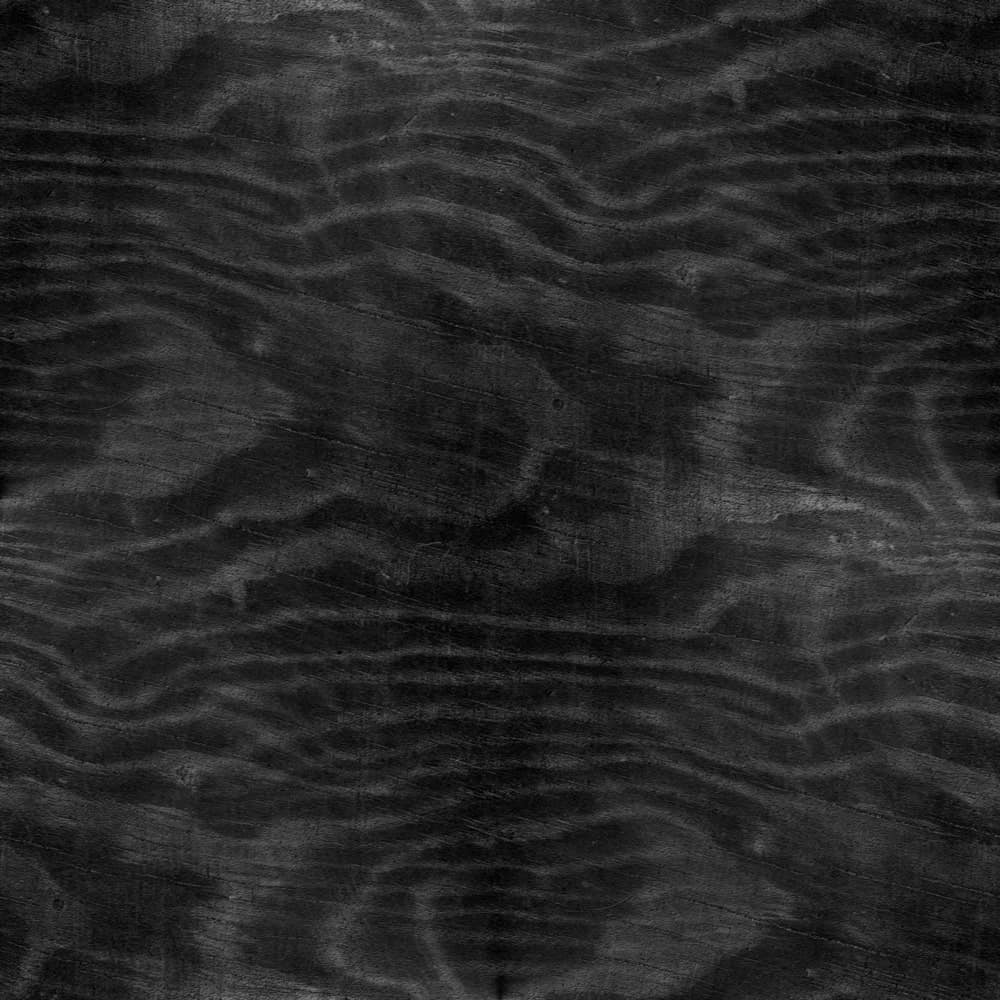 Textured black ash wood
