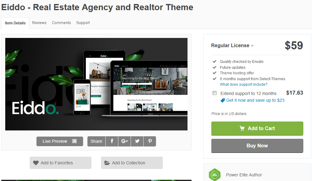 Eiddo Real Estate Theme