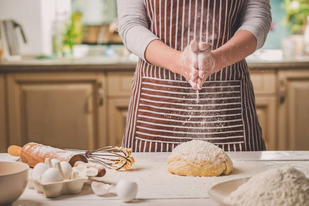 making scone