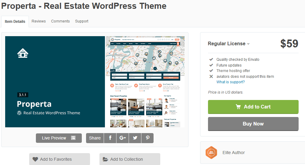 Properta WordPress Theme