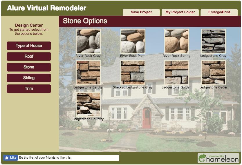 Alure home exterior designer software