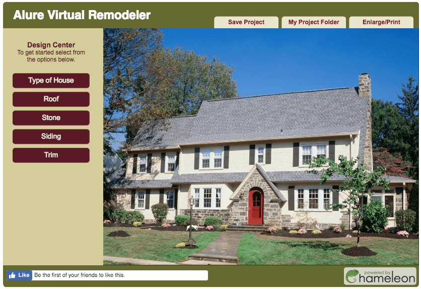 Alure home exterior designer software