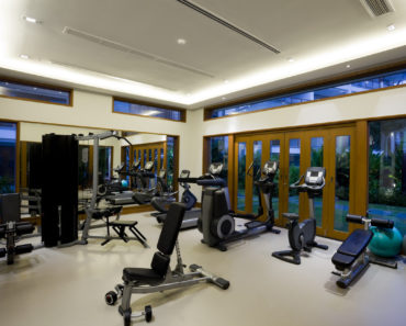 Beautiful home gym
