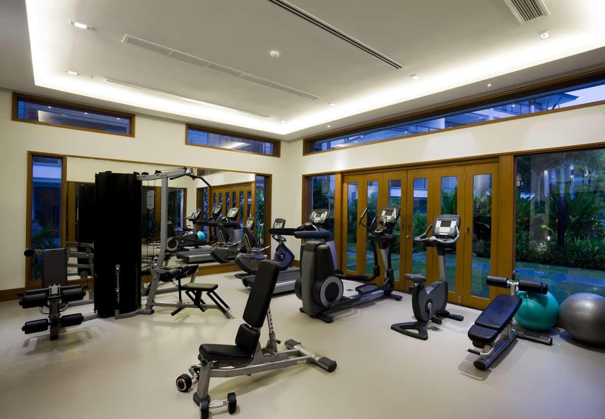 Beautiful home gym