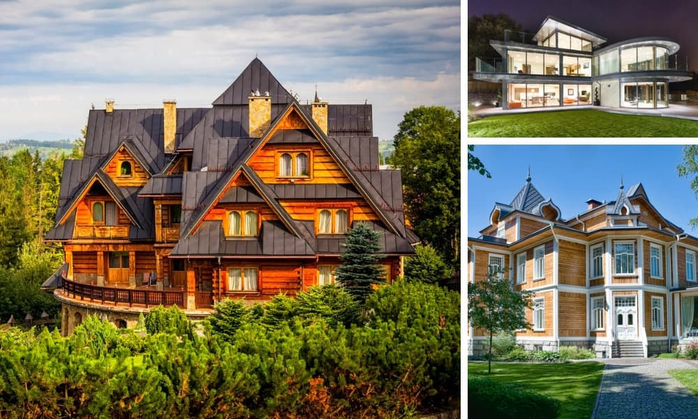 Collection of beautiful houses