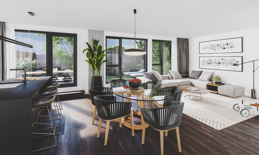 Luxury apartment by Maître Carré