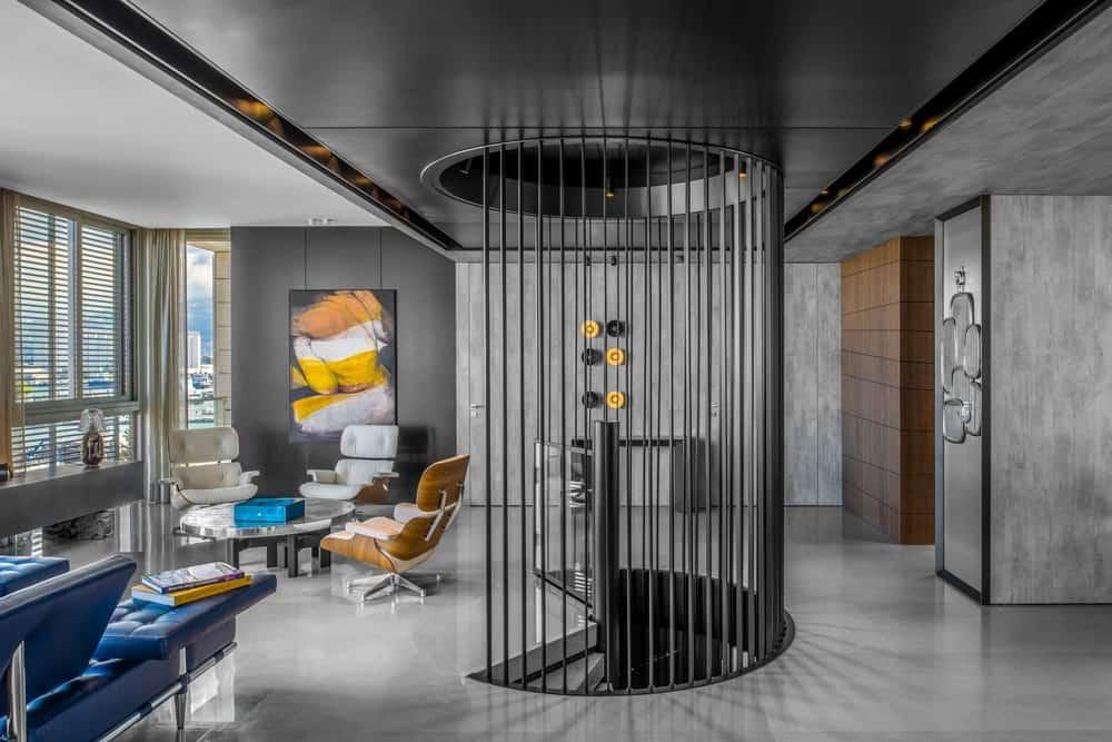 Modern high-end duplex apartment lebanon by Askdeco