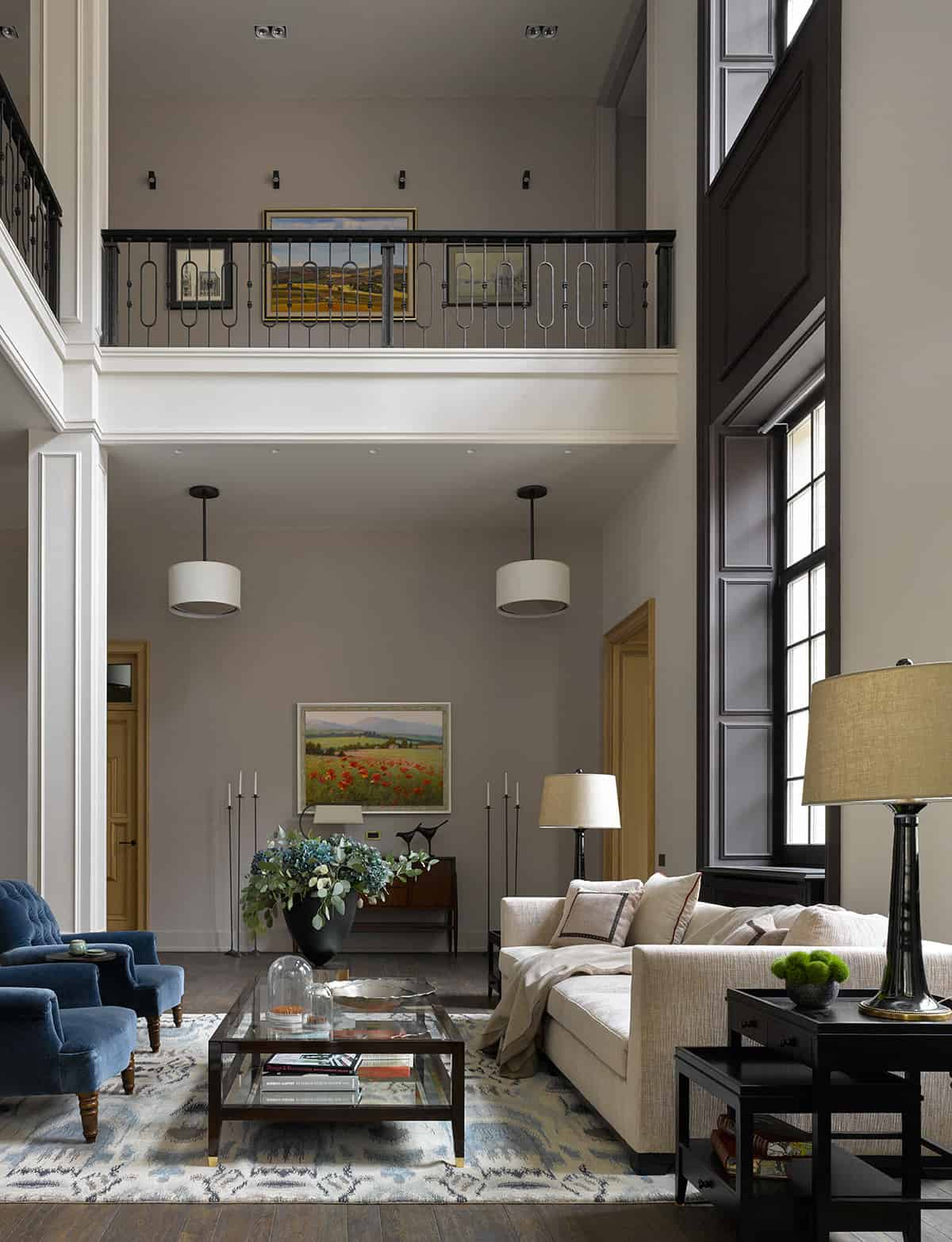 Living Room Feature Wall Decor: 100 Living Rooms Without A Fireplace (Photos