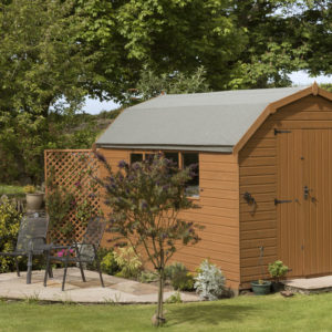 Shed designed with shed design software