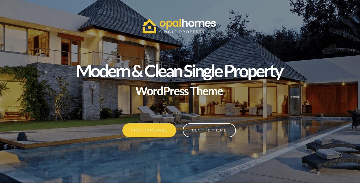 OpalHomes WordPress Theme
