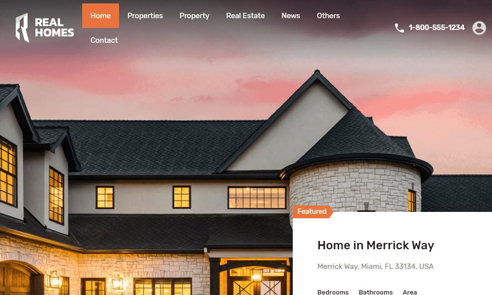 Real Homes WordPress Theme