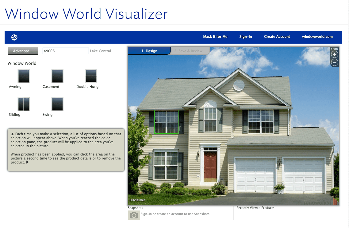 Window World Window visualizer software