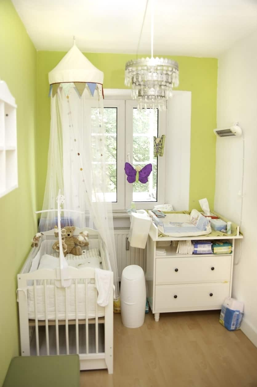 And Baby Makes Three: My Nurseries |Green And Yellow Baby Room