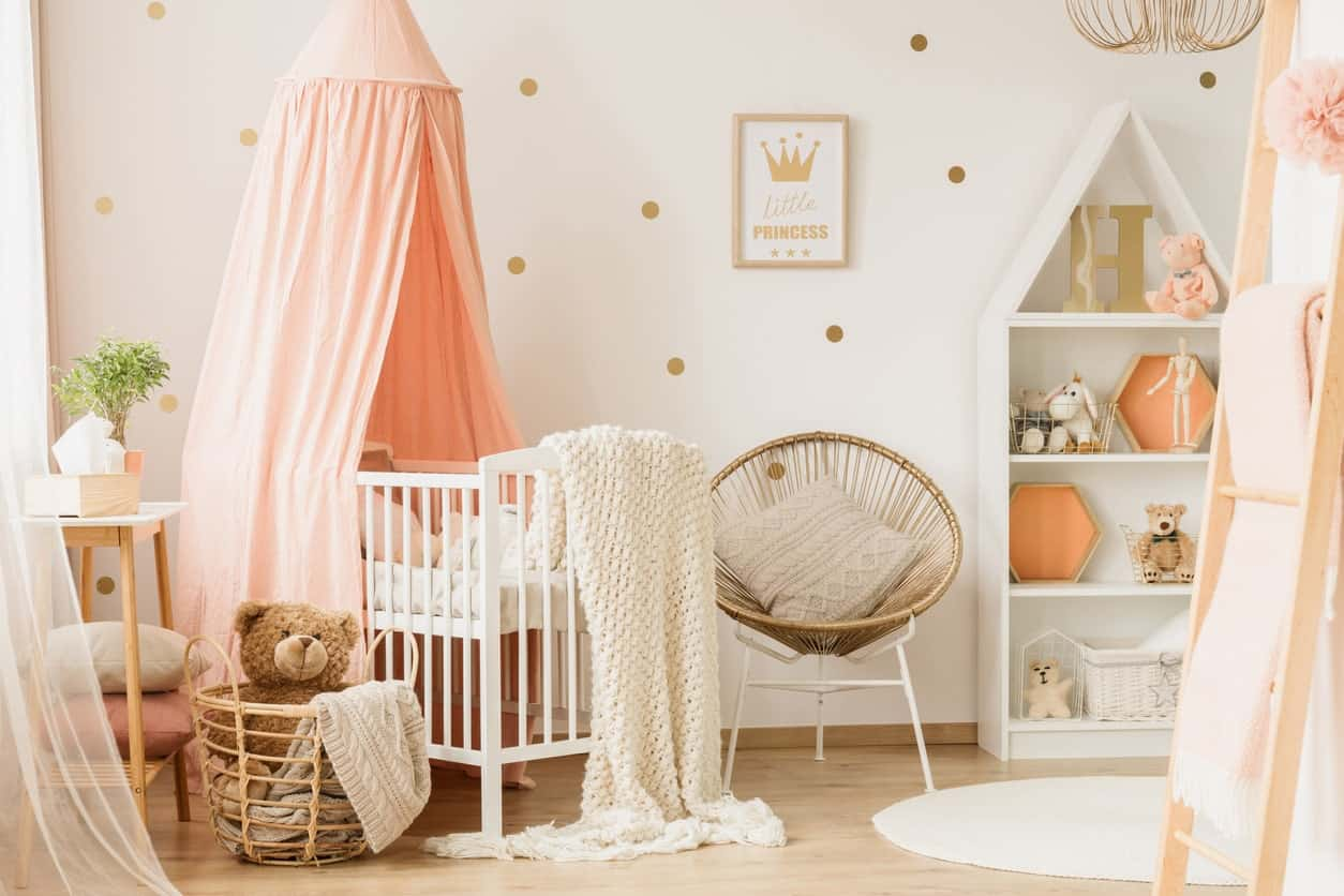 45 Baby Girl Nursery Room Ideas Photos
