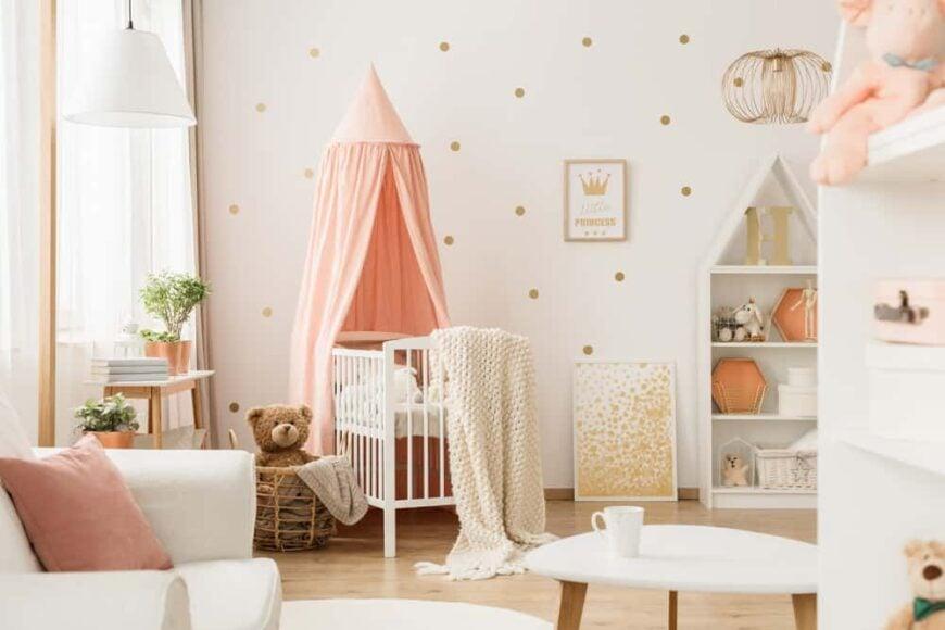 Curtains For Baby Girl Nursery: 45 Baby Girl Nursery Room Ideas (Photos