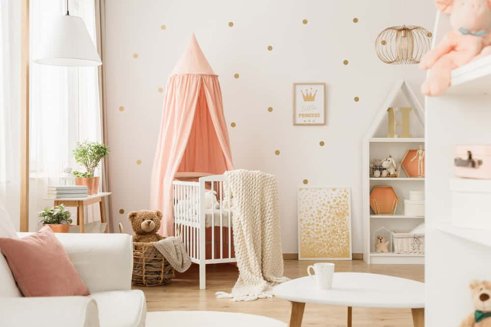 Baby Girl Nursery Decor Home Stratosphere