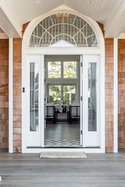 Kicking off the tour through the front door which opens up into a large open living space.