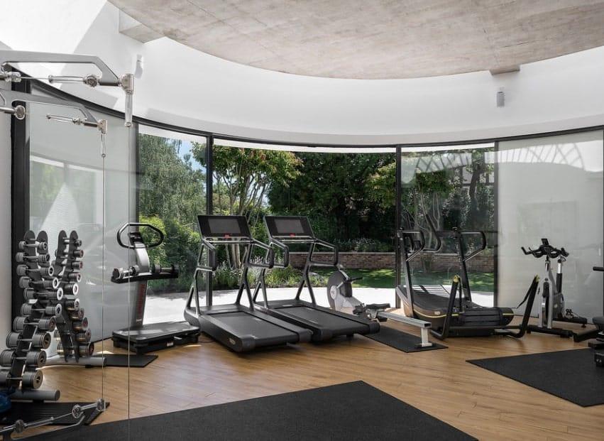 Gym wall decals home art homey ideas fitness center vinyl decal
