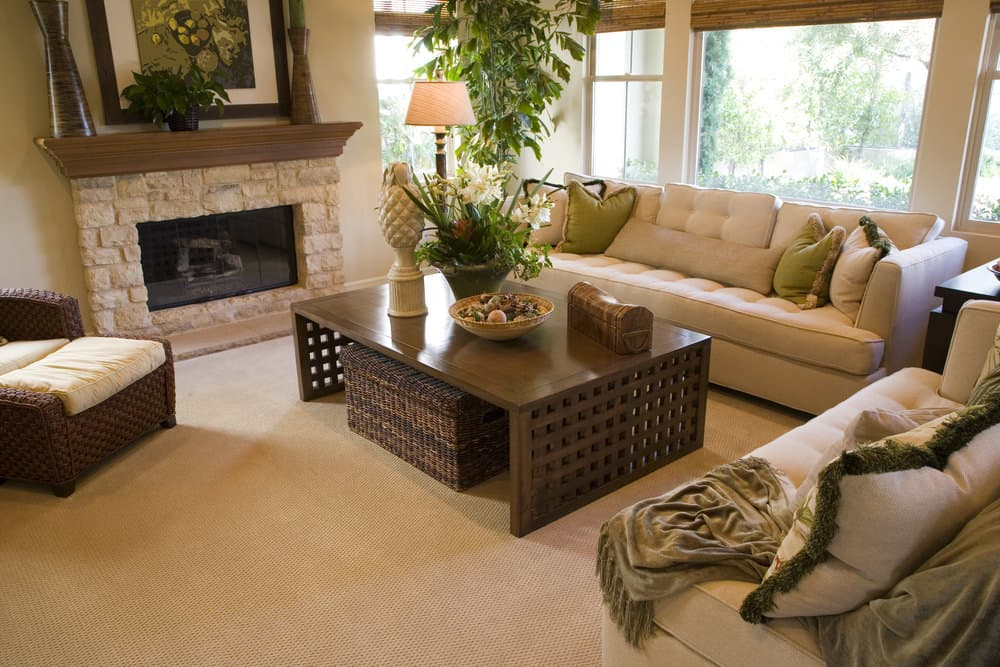 50 living rooms with carpet flooring photos - Carpets for living room online india ...