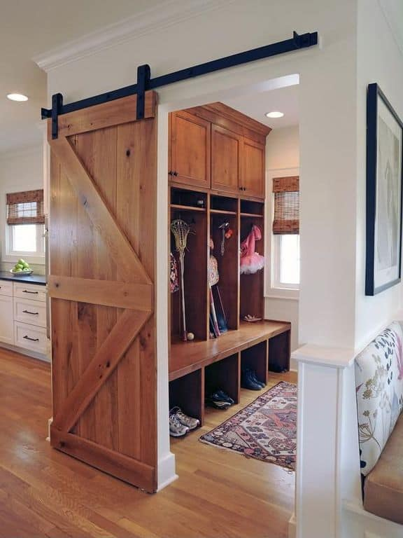 Thing To Have In A Mudroom While It Doesn T Look Like The Other Lockers Is More Of Cubby With Separate Es For Each Member Family