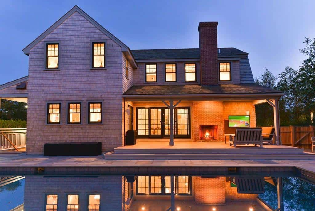 Two-House Compound with Pool on Nantucket on nantucket style fireplace, nantucket style home decoration, nantucket style chairs, nantucket style architecture, nantucket style bathroom, nantucket style living room, nantucket style lighting, nantucket style wallpaper, nantucket style dining room, nantucket style bedroom, nantucket style furniture, nantucket style lamps, nantucket style kitchen,