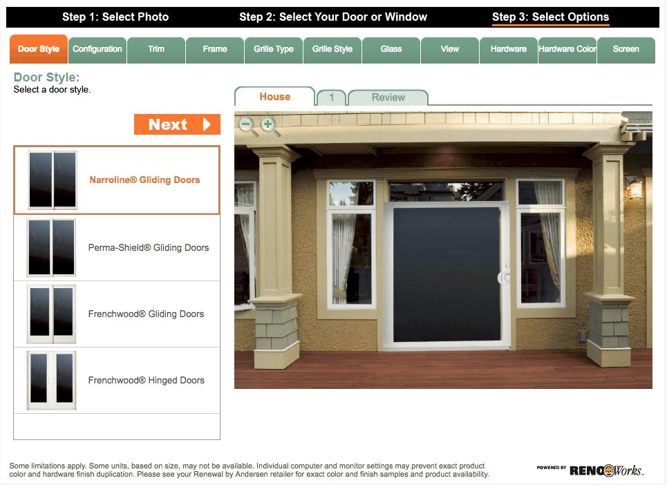 Renewal by Andersen design your door