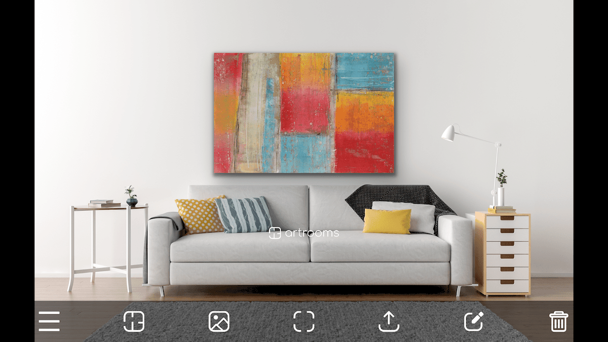 Artrooms app example