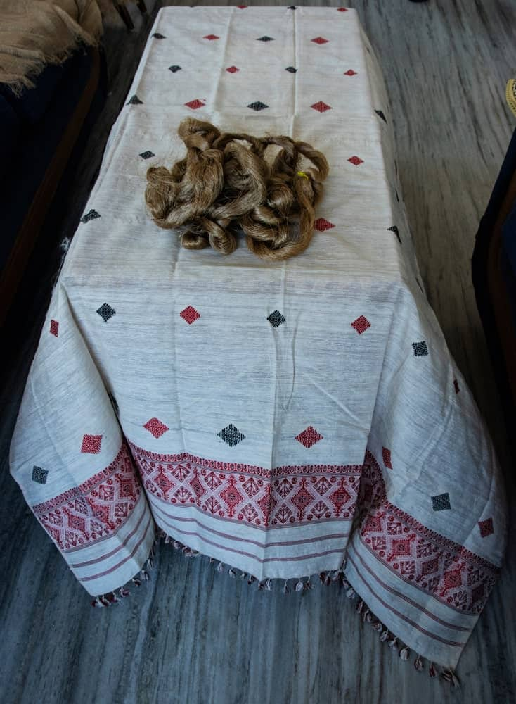 silk cloth eri