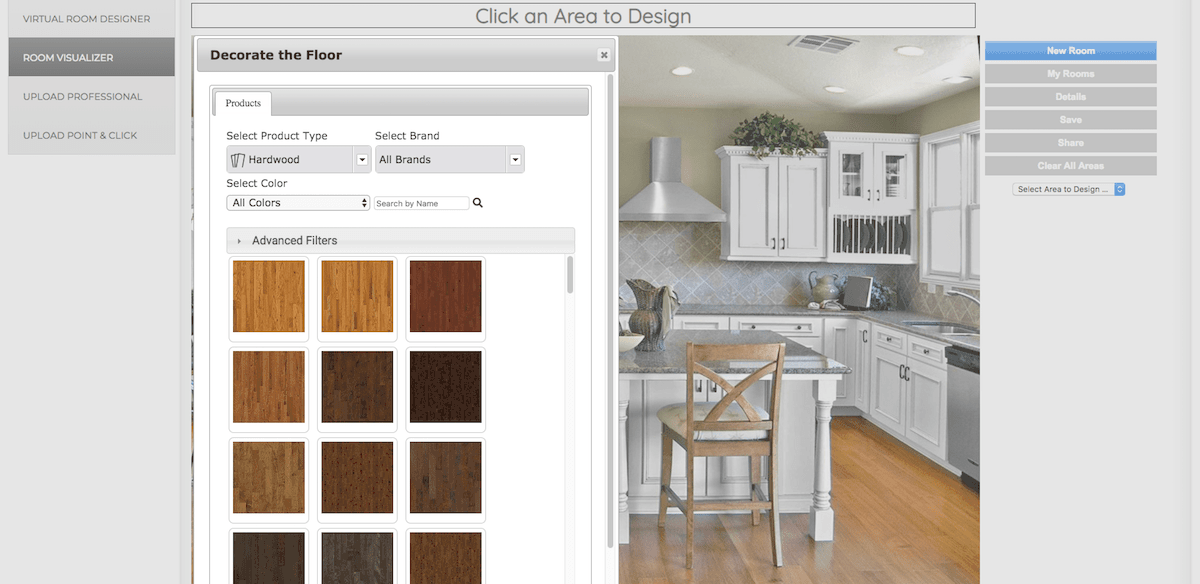Floors and Kitchens Today floor design software
