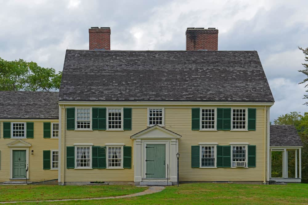 Historic Major John Rick House In Minute Man National Historical Park Concord Machusetts