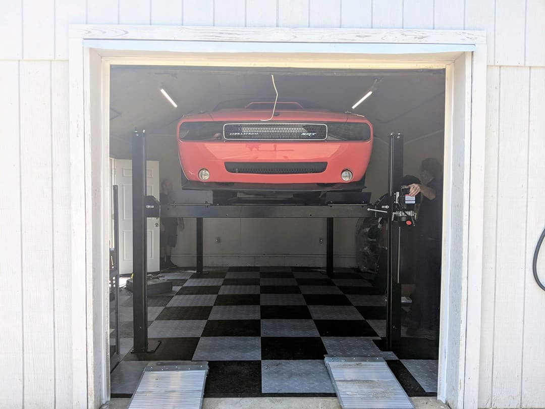 Home car lifts