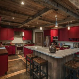 Rustic kitchen by RTM Architects
