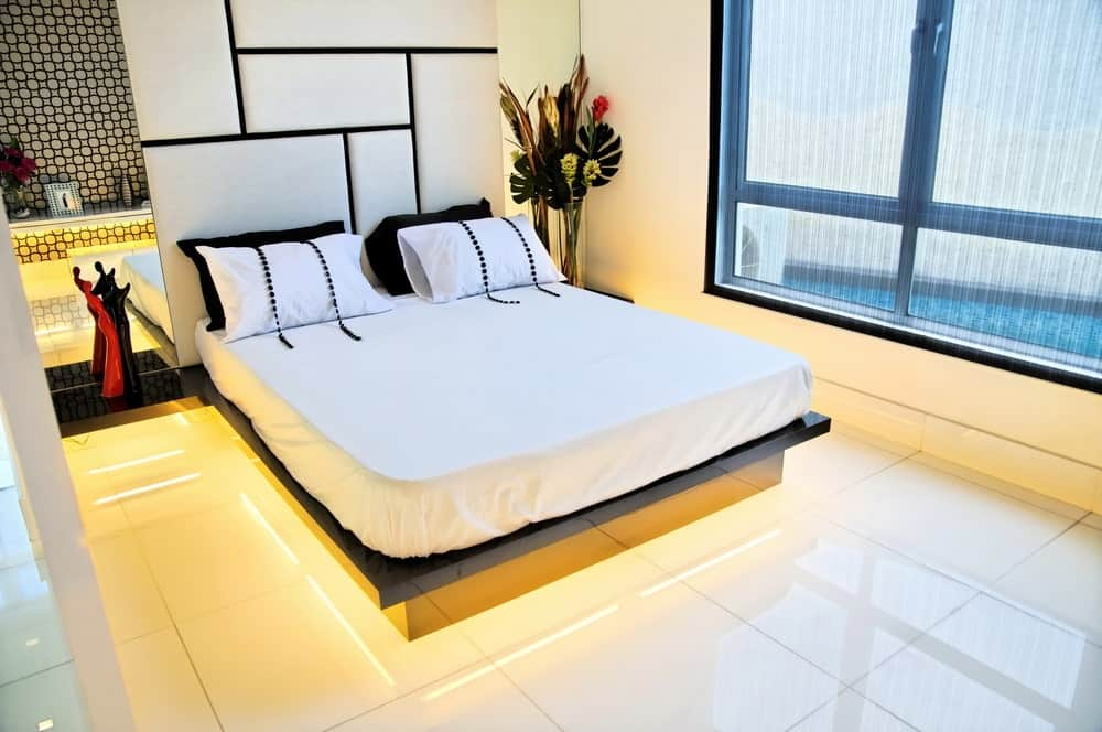 50 Master Bedrooms With Tile Flooring Photos