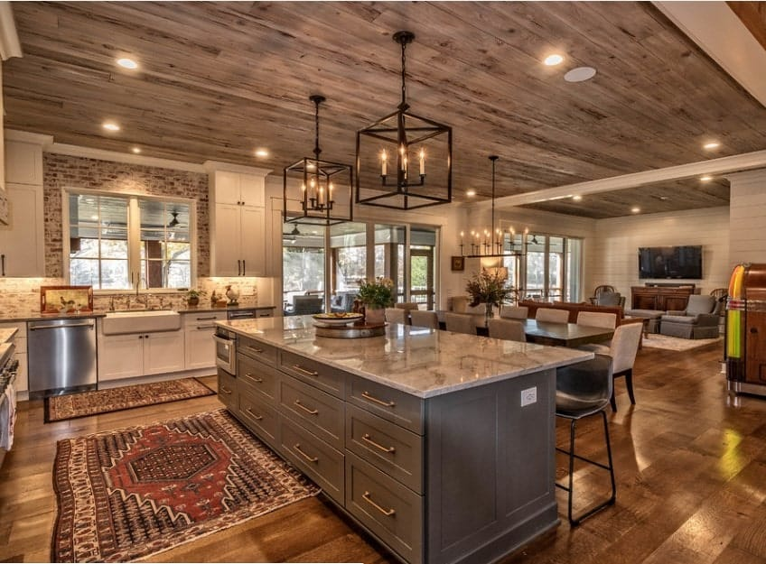56 Incredible Rustic Kitchen Ideas Photos