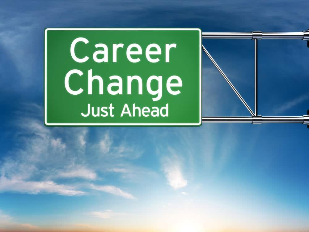 Career change sign