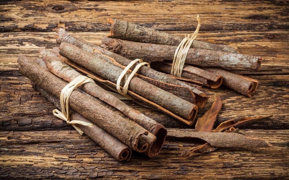 A Handful of Fresh Cassia Bark