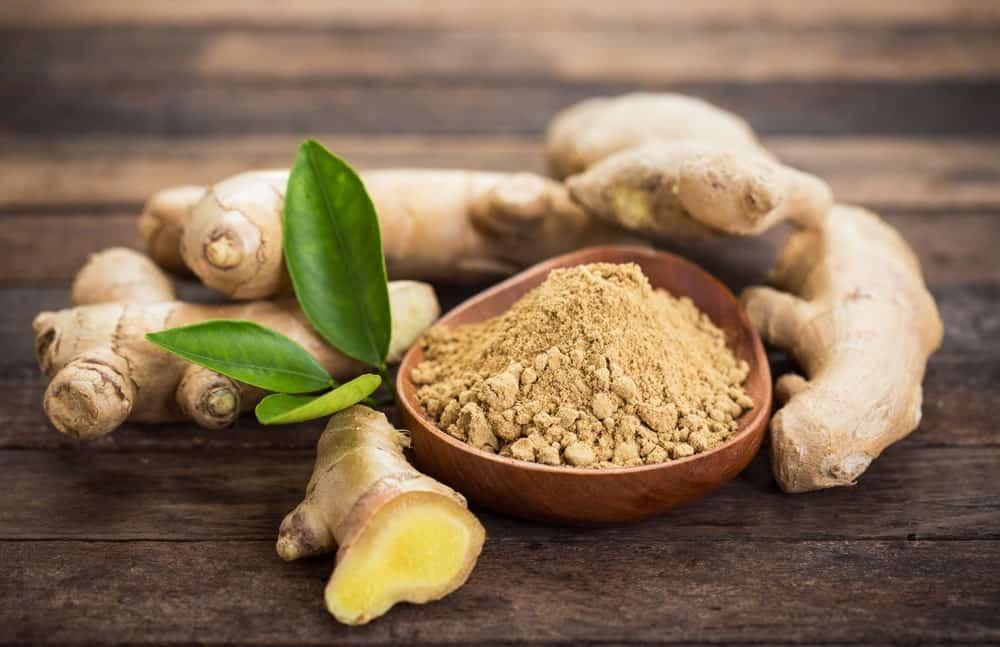 Bowl of Ginger powder