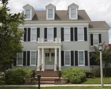 Nice colonial house with dormer windows