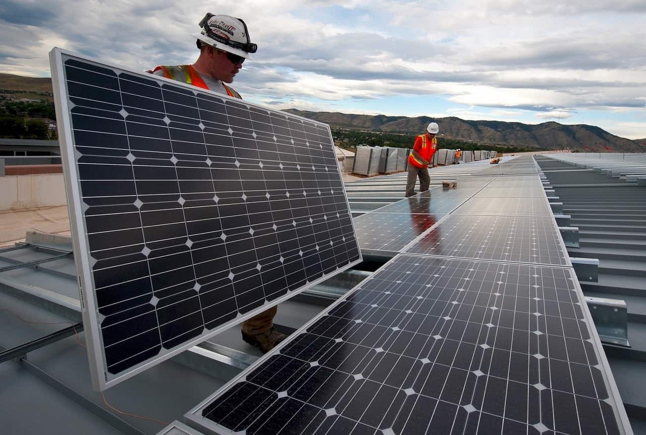 Solar electrician