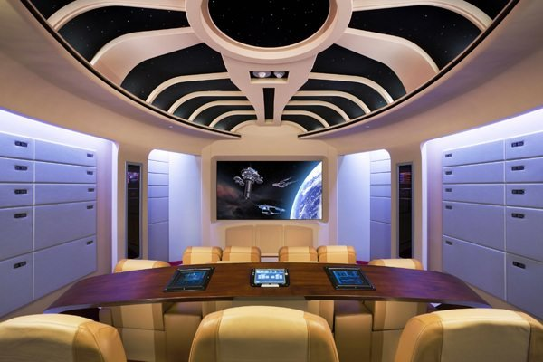 Star Trek Themed Home Theater by AudioAdvisors.com and AccousticInnovations.com