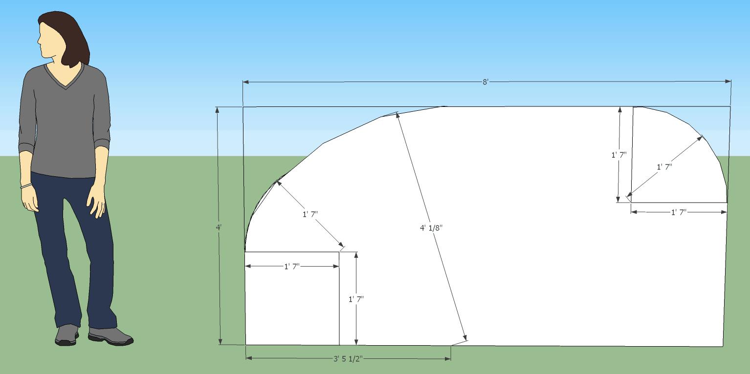 Teardrop camper dimensions