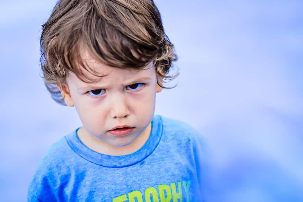 Young boy seeking revenge