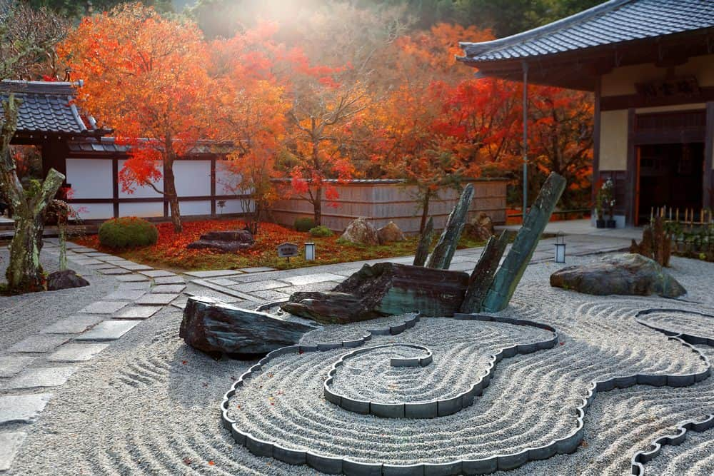 Gorgeous Zen rock garden