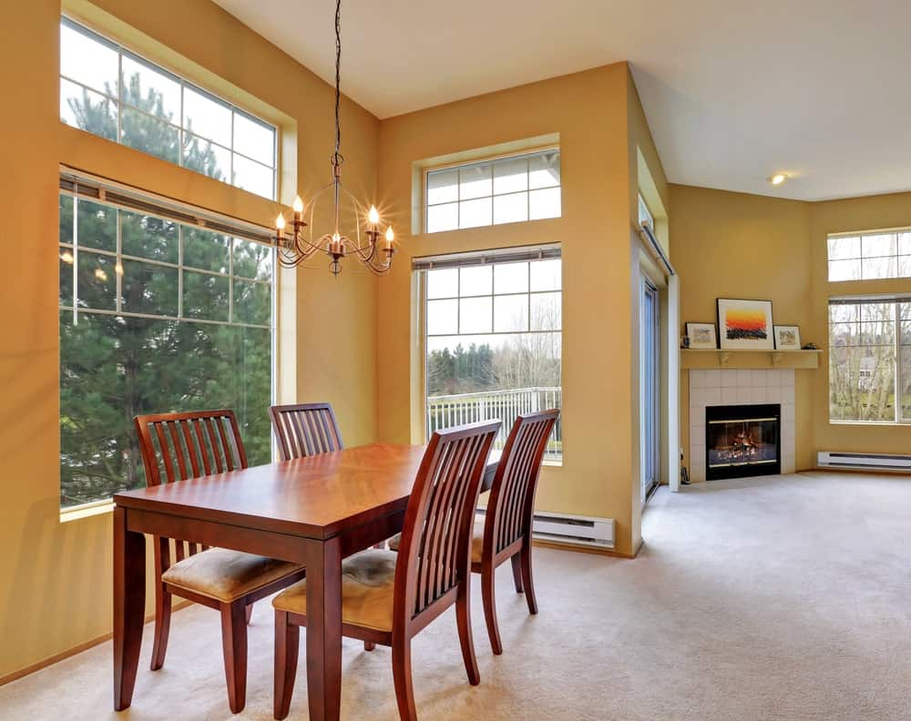 50 Dining Rooms with Tall Ceilings (Photos)