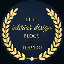 Best interior design blogs - top 100 badge for Home Stratosphere