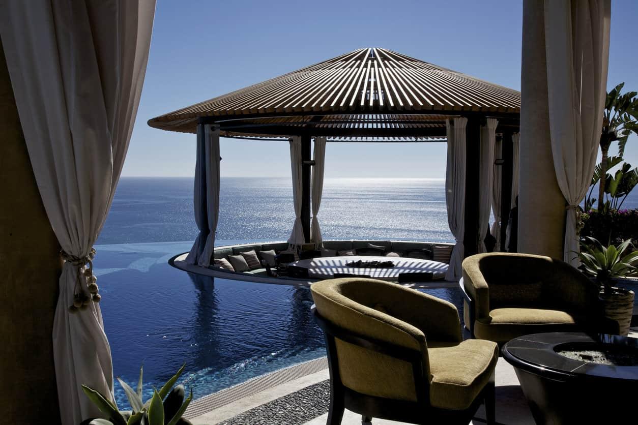 50 Swimming Pool House, Cabana and Pergola Ideas (Photos) on Small Pool Cabana Ideas id=22479