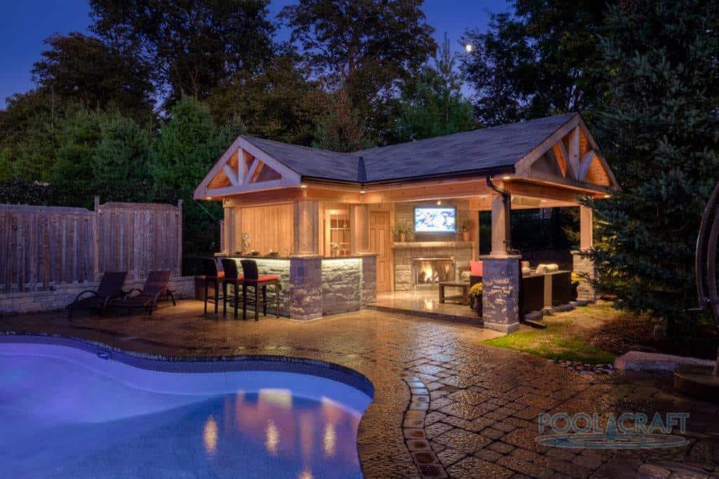 50 Swimming Pool House, Cabana and Pergola Ideas (Photos) on Cabana Designs Ideas id=64756