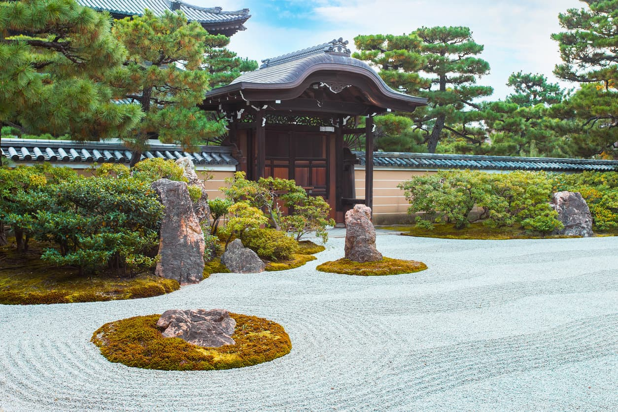 Kyoto, Japan - Kennin-ji Temple is one of the five most important Zen temples and it's the oldest Zen temple in Kyoto
